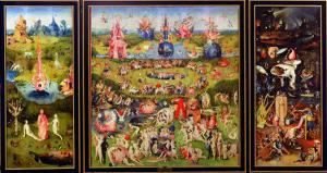 The Garden of Earthly Delights, circa 1500 by Hieronymus Bosch