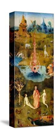 The Garden of Earthly Delights, Left Panel