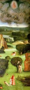 The Last Judgement : Interior of Left Wing by Hieronymus Bosch