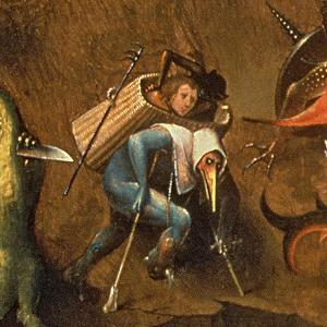The Last Judgement (Oil on Panel) (Detail of 29115) by Hieronymus Bosch