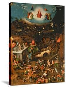 The Last Judgement (Oil on Panel) by Hieronymus Bosch