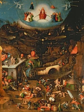 The Last Judgement (Oil on Panel)