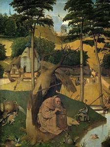 The Temptation of Saint Anthony, Ca. 1490, Flemish School by Hieronymus Bosch