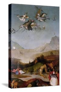 The Temptation of Saint Anthony (Detail of Left Wing of a Triptyc), Between 1495 and 1515 by Hieronymus Bosch