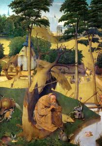 The Temptation of Saint Anthony by Hieronymus Bosch