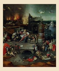 The Temptation of St. Anthony, Central Panel by Hieronymus Bosch