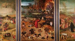Triptych of the Temptation of St. Anthony by Hieronymus Bosch