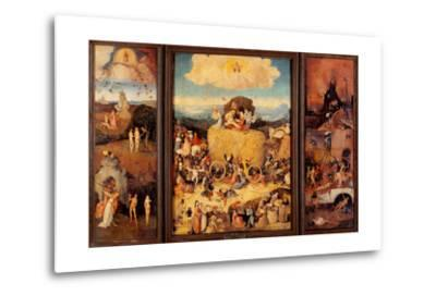 Tryptych of Hay, (Full open view)