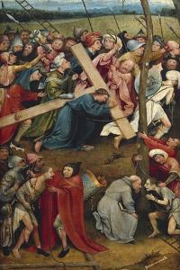 Christ Carrying the Cross by Hieronymus Van Aeken Bosch