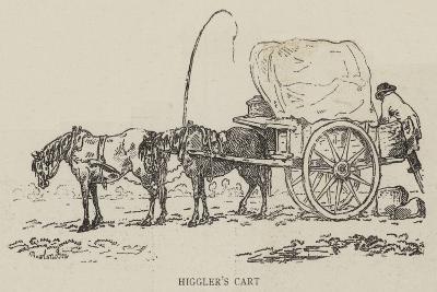 Higgler's Cart--Giclee Print