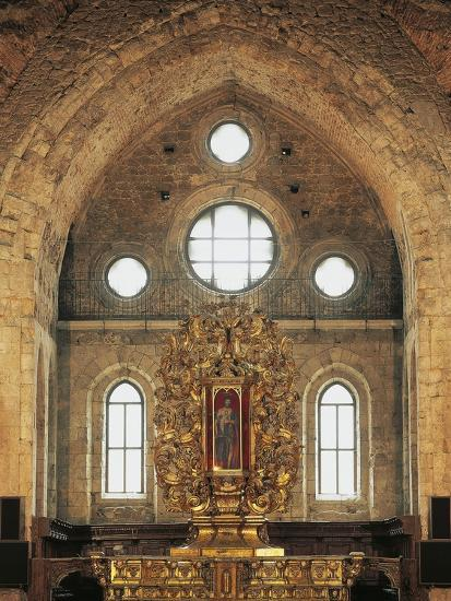 High Altar (1740) in San Giovanni in Fiore Abbey--Photographic Print