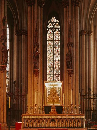 High Altar, Cologne Cathedral--Photographic Print