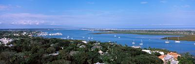 High Angle View from Top of Lighthouse, St. Augustine, Florida, USA--Photographic Print