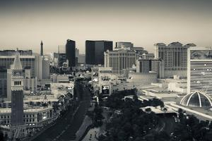 High Angle View of a City, Las Vegas Boulevard, Las Vegas Strip, Las Vegas, Nevada, USA
