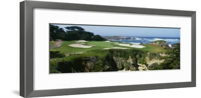 High Angle View of a Golf Course, Cypress Point Golf Course, Pebble Beach, California, USA