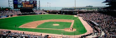 High Angle View of a Stadium, Pac Bell Stadium, San Francisco, California, USA--Photographic Print