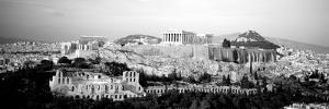High Angle View of Buildings in a City, Acropolis, Athens, Greece
