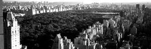 High Angle View of Buildings in a City, Central Park, Manhattan, New York City, New York State, USA