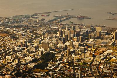 High Angle View of Cape Town-Ralph Lee Hopkins-Photographic Print