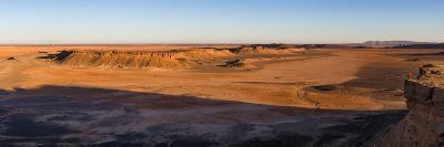 High angle view of Sahara Desert, Morocco--Photographic Print