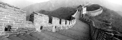 High Angle View of the Great Wall of China, Mutianyu, China--Photographic Print