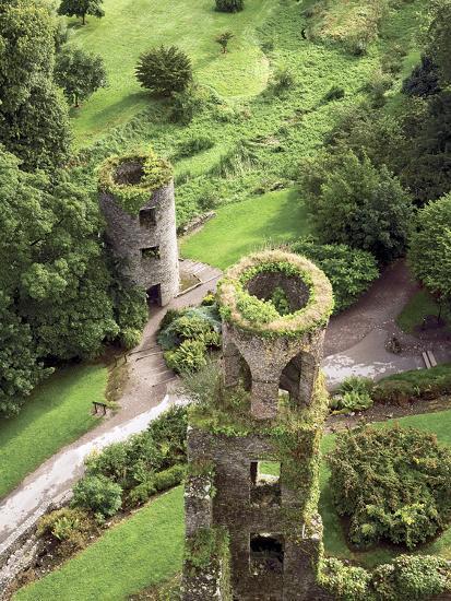 High Angle View of Towers, Blarney Castle, County Cork, Ireland-Miva Stock-Photographic Print