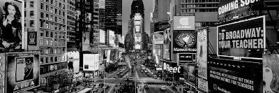 High Angle View of Traffic on a Road, Times Square, Manhattan, New York City, New York State, USA--Photographic Print