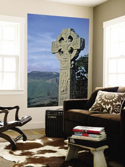High Cross, Drumcliff Church, Yeats Country, Co. Sligo, Ireland-Doug Pearson-Wall Mural