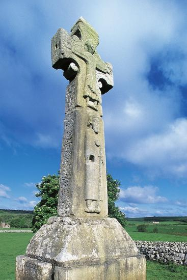 High Cross known as St Tola's Cross--Photographic Print
