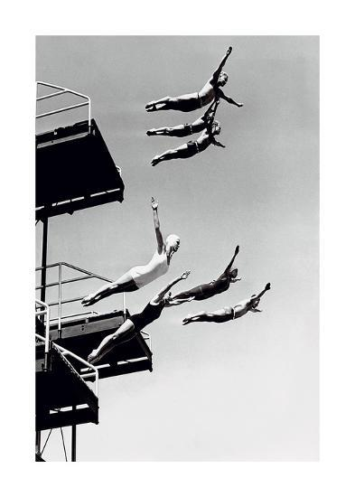High Dive-The Chelsea Collection-Art Print