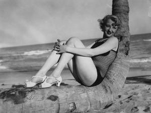 High Fashion During the 1940S Included Fishnet Swimsuits
