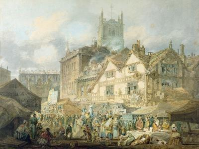 High Green, Queen Square, Wolverhampton, 1795-J^ M^ W^ Turner-Giclee Print