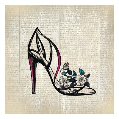 High Heel News 2-Kimberly Allen-Art Print