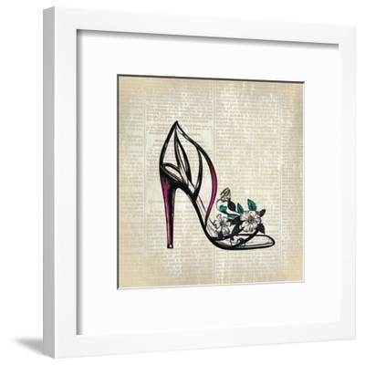 High Heel News 2-Kimberly Allen-Framed Art Print