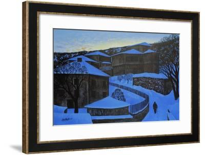 High in the Mountains, 2006-Radi Nedelchev-Framed Giclee Print