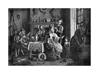 High-Life Below Stairs, 1772-Caldwell-Giclee Print