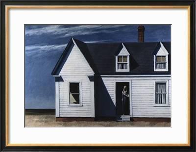 Art Print//Poster Edward Hopper High Noon