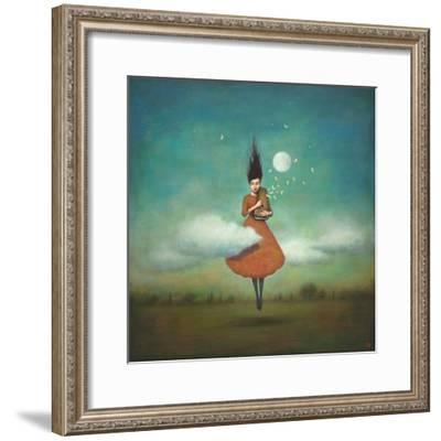 High Notes for Low Clouds-Duy Huynh-Framed Art Print