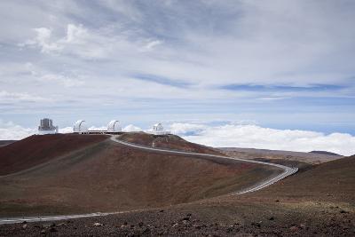 High-Power Telescope Is , the Big Island of Hawaii-James White-Photographic Print