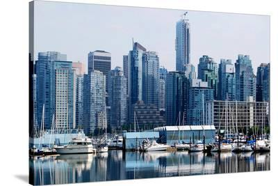 High Rises Downtown Vancouver--Stretched Canvas Print