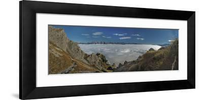 High Seas, Photographed from the Nockspitze-Niki Haselwanter-Framed Photographic Print