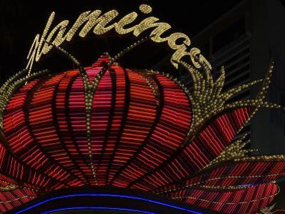 High Section View of a Casino, Flamingo Casino, Las Vegas, Nevada, USA