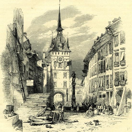 High Street Berne Switzerland--Giclee Print