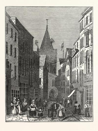 High Street, Guernsey--Giclee Print