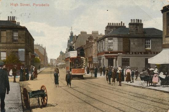 'High Street, Portobello', 1913-Unknown-Giclee Print