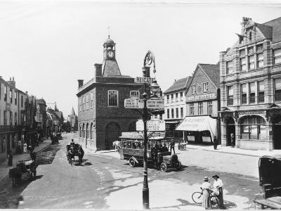 High Street, Reigate, Surrey--Photographic Print