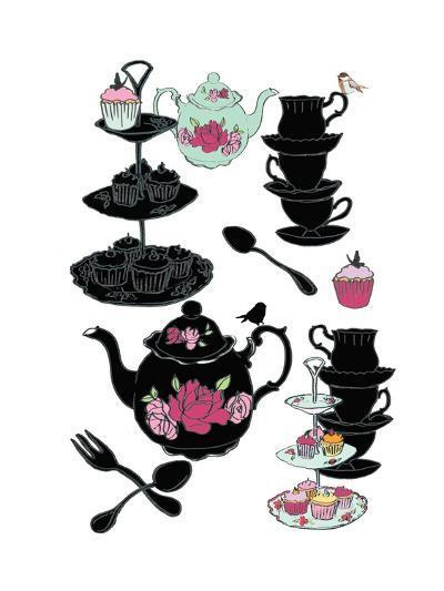 High Tea, 2013-Anna Platts-Giclee Print