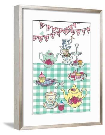 High Tea Birthday, 2013-Anna Platts-Framed Giclee Print