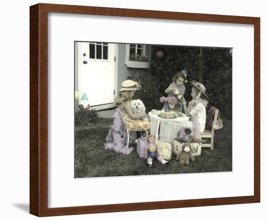 High Tea-Gail Goodwin-Framed Premium Giclee Print