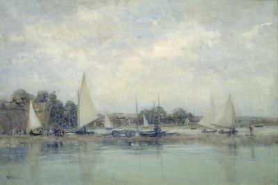 High Tide, Blakeney-Sir Walter Russell-Giclee Print